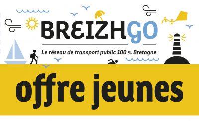 breizhgo gratuit pour les jeunes Finistère car transport Bretagne